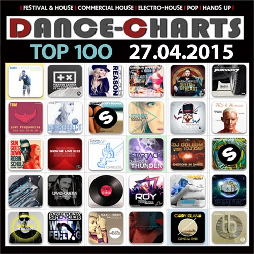 VA - Dance-Charts - Top 100 [27.04.2015] (2016) MP3