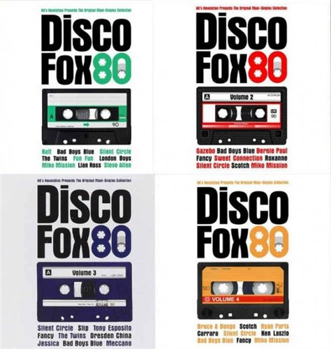 VA - Disco Fox 80 - The Original Maxi-Singles Collection Vol. 1-4 (2014-2016) MP3