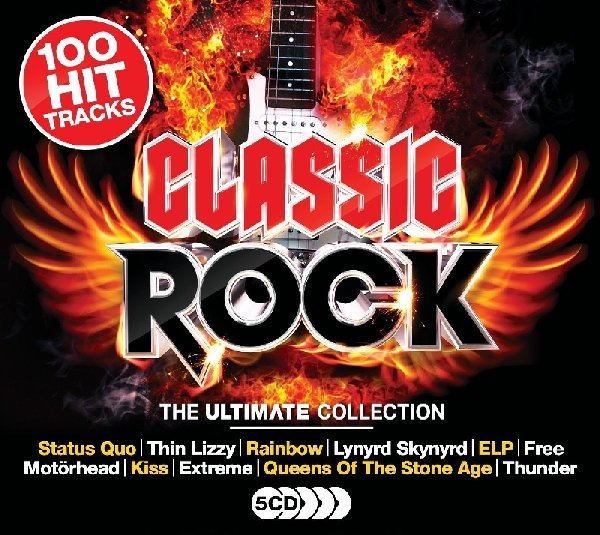 VA - The Ultimate Collection: Classic Rock [5CD Box Set] (2017) FLAC