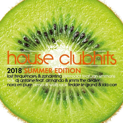 VA - House Clubhits Summer Edition 2018 [2CD] (2018) MP3