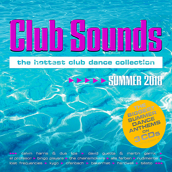 VA - Club Sounds Summer [3CD] (2018) MP3
