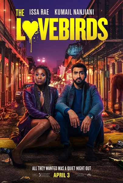 Любовнички / The Lovebirds (2020) WEB-DLRip| IdeaFilm