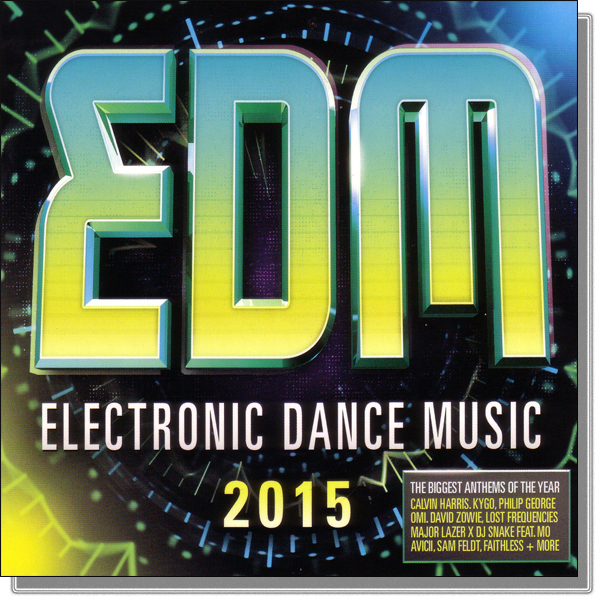 VA - EDM: Electronic Dance Music 2015 (2016) MP3