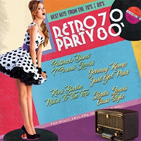 Сборник - Retro Party 70-80' (2017) MP3