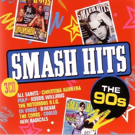 Сборник - Smash Hits The 90s [3CD] (2017) MP3